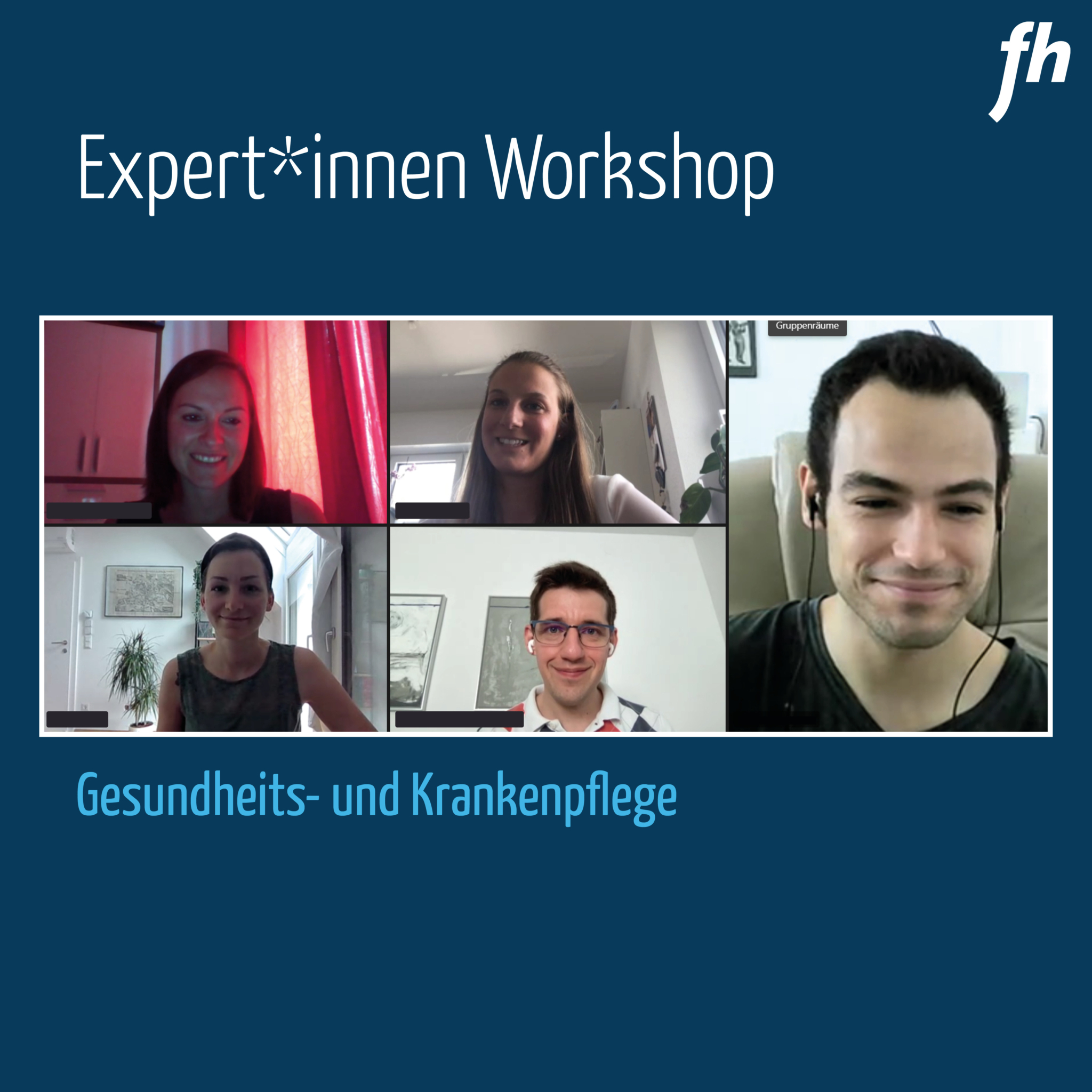 Expert*innenworkshop am Studiengang Gesundheits- und Krankenpflege (Credit: FH Gesundheitsberufe OÖ)