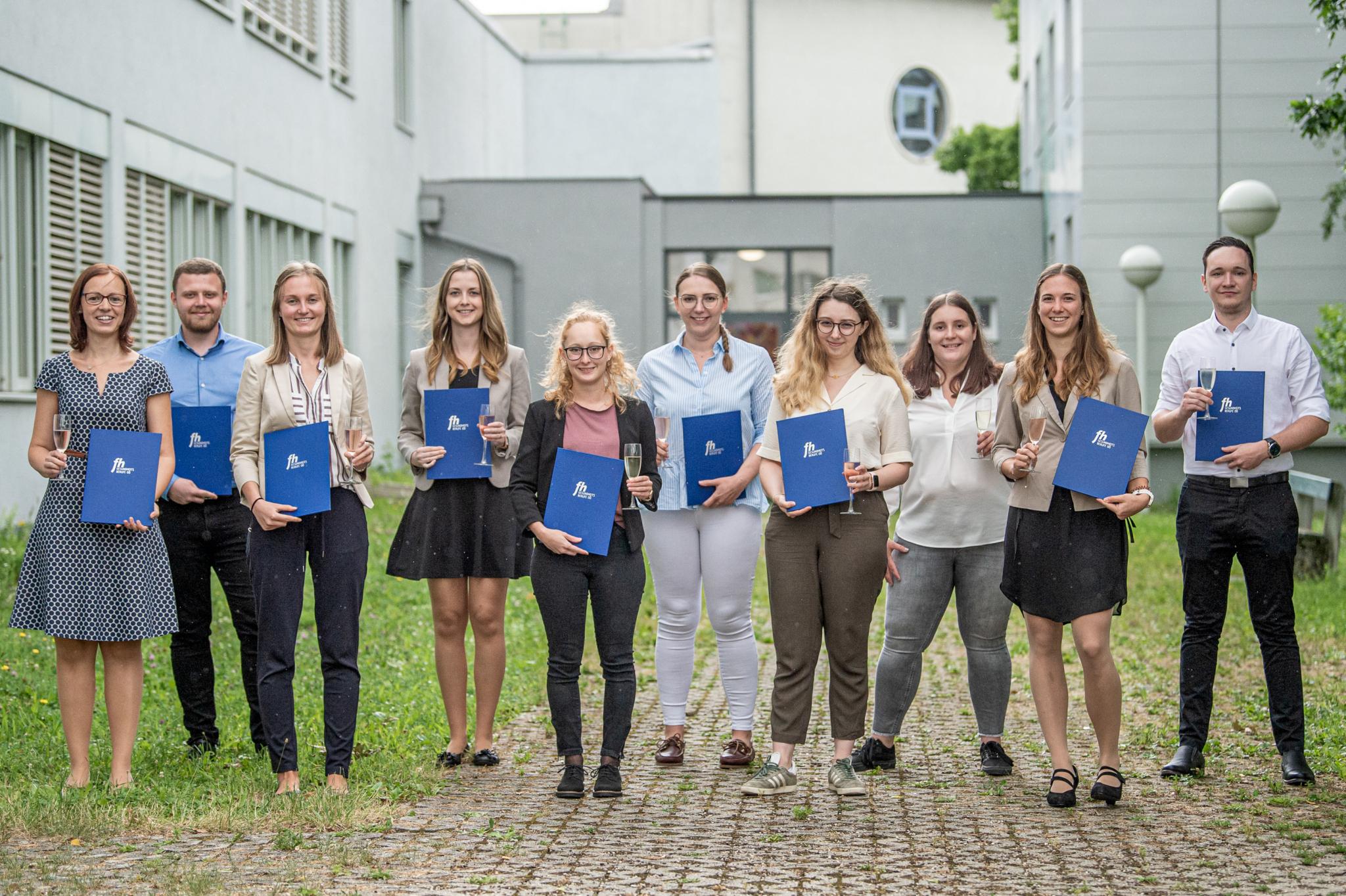 Sponsion des Studiengangs Radiologietechnologie in Linz  (vergrößerete Ansicht in der Galerie)