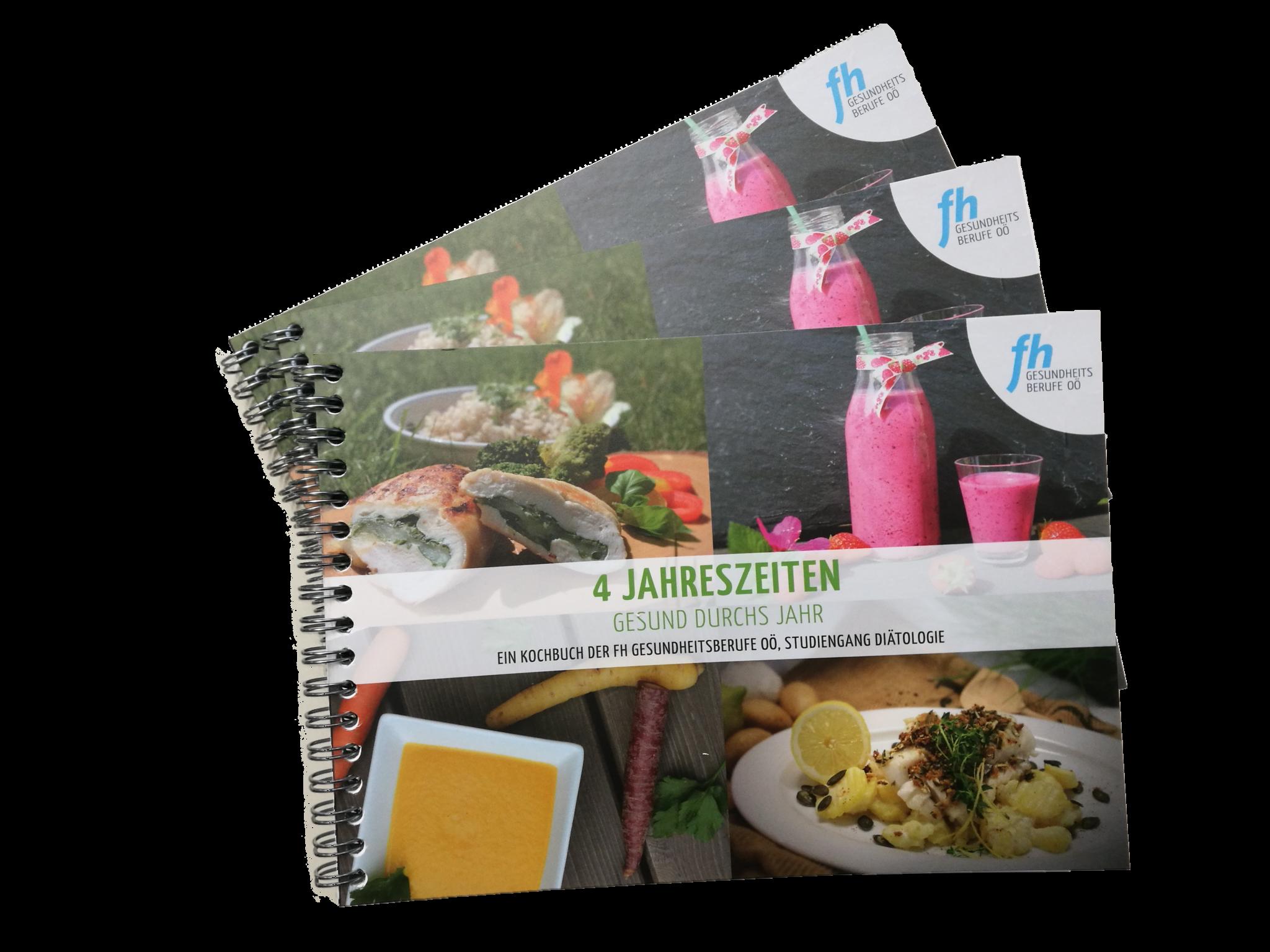 FH Gesundheitsberufe OÖ Kochbuch 4-Jahreszeiten