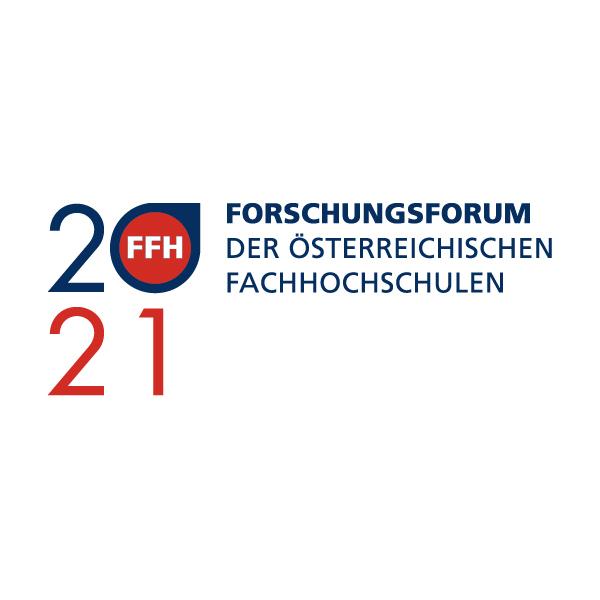 Logo Forschungsforum 2021 der FH Wien der WKW (Fotocredit: www.fh-wien.ac.at)