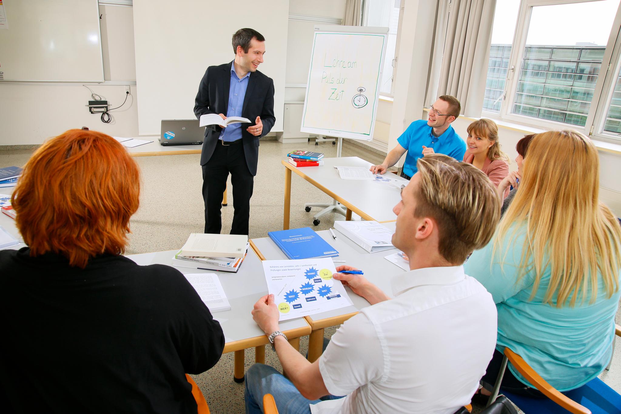 Hochschuldidaktik für Gesundheitsberufe