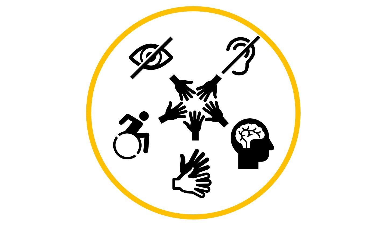 """Presseaussendung Erfahrung und Verständnis von Beeinträchtigungen Mai 2020 Projekt-Logo """"Beeinträchtigung erklärt & erlebt"""","""