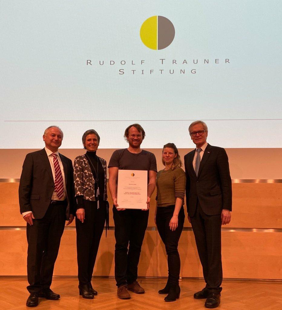 Rudolf Trauner Preis 2020