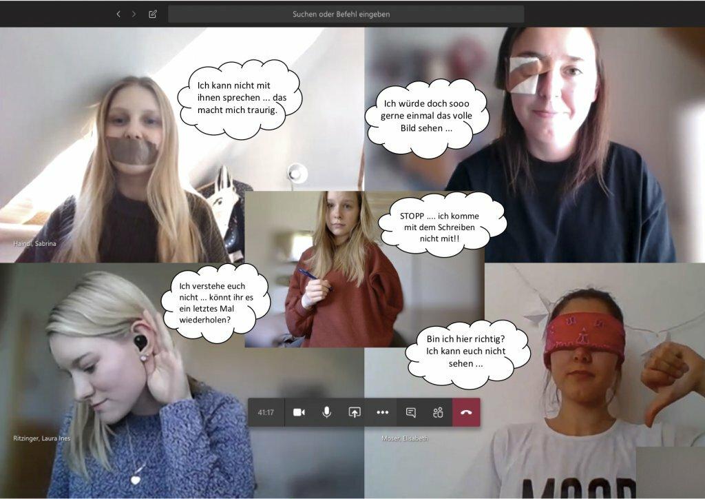 Selbsterfahrung Sinneseinschränkung Homelearning