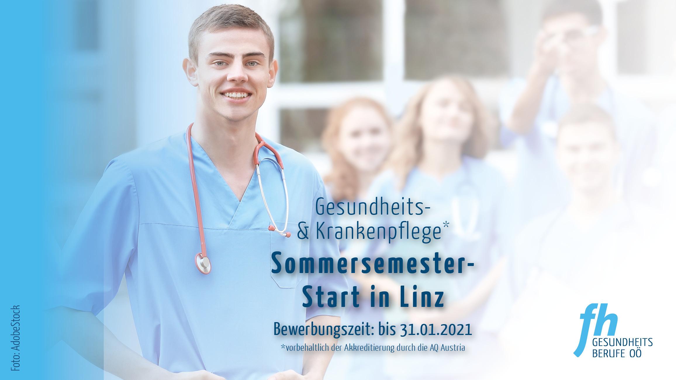 Sommersemesterstart Gesundheits- und Krankenpflege 2021